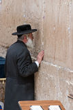 Wailing Wall Jerusalem, praying Stock Images