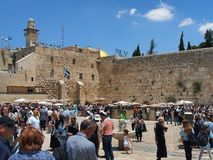 Wailing Wall, Jerusalem Stock Photos