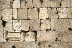 Wailing Wall. The Wailing Wall in the old city of Jerusalem, one of the most holy places to the Jewish people Royalty Free Stock Photos