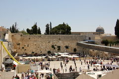 Wailing Wall in the Old City of Jerusalem Royalty Free Stock Image
