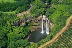 Wailua瀑布 图库摄影