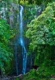 Wailua cade sull'isola di Maui, Hawai Immagini Stock