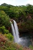 Wailua cai na ilha de Kauai Fotografia de Stock Royalty Free