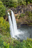 Wailua falls in kauai Royalty Free Stock Image