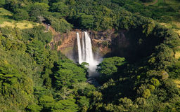 Wailua Falls near Lihue in Kauai Stock Photo