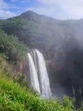 Wailua vattenfall på Kauai, Hawaii Royaltyfria Foton