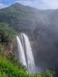 Wailua vattenfall på Kauai, Hawaii Arkivbild
