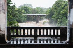 Wailuku河在Hilo 免版税库存图片