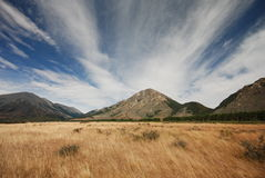Waimakariri valley Stock Images