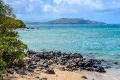Waimanalo Bay Stock Image