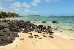 Waimanalo Bay Stock Images