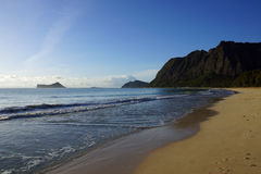 Waimanalo Beach Stock Photography