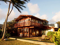 Waimanalo Beach House Royalty Free Stock Photos