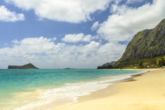 Waimanalo Beach Royalty Free Stock Images