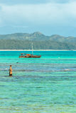 Waimanalo Catamaran Royalty Free Stock Photo