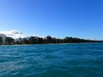 Waimanalo strand Arkivbild
