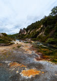 Waimangu Volcanic Valley, New Zealand Royalty Free Stock Photography