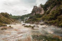 Waimangu volcanic valley Royalty Free Stock Image