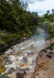 Waimangu Vulkanische Vallei, Nieuw Zeeland Royalty-vrije Stock Fotografie