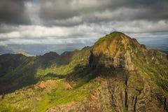 Waimea峡谷,考艾岛 免版税库存照片