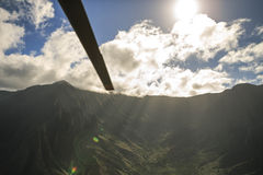 Waimea峡谷,考艾岛 免版税图库摄影