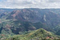 Waimea峡谷 库存图片