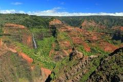 Парк штата каньона Waimea стоковые фотографии rf