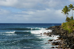Waimea Bay Royalty Free Stock Photo