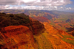 Waimea Canyon. Kauai Hawaii royalty free stock photos