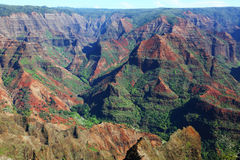 Waimea canyon. On Kauai, Hawaii Stock Images