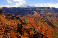 Waimea Canyon 2. Kauai Hawaii stock image