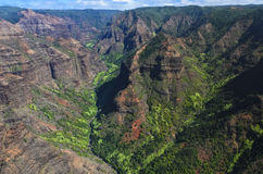 Waimea Canyon Royalty Free Stock Images