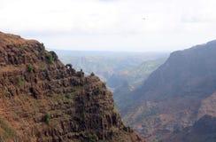 Waimea canyon. View of waimea canyon in kaui hawaii Royalty Free Stock Image