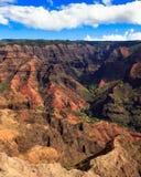 Waimea Canyon. Amazing Waimea Canyon in Kauai, Hawaii Islands Stock Image