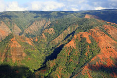 Waimea Canyon. Landscape in Waimea Canyon, Kauai, Hawaii Stock Photos