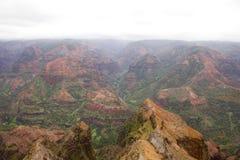 Waimea Canyon Royalty Free Stock Images