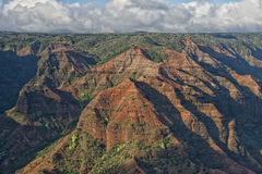 Waimea Canyon in Hawaii Stock Images