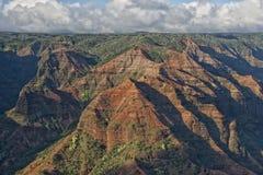 Waimea Canyon in Hawaii Stock Images