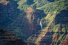 Waimea Canyon in Hawaii Royalty Free Stock Photos