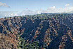 Waimea Canyon in Hawaii Stock Photo