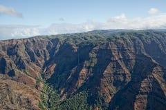 Waimea Canyon in Hawaii Stock Photo