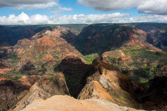 Waimea Canyon Stock Photo