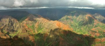 Waimea Canyon, Kauai Royalty Free Stock Images