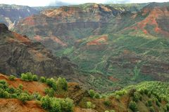 Waimea Canyon, Kauai Stock Photography
