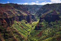 Waimea Canyon on Kauai Royalty Free Stock Images