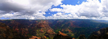 Waimea Canyon Kauai Hawaii Royalty Free Stock Photo