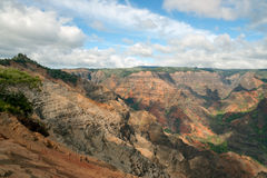 Waimea Canyon - Kauai, Hawaii Royalty Free Stock Photography