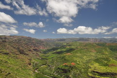 Waimea Canyon, Kauai, Hawaii Stock Image