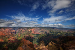 Waimea canyon. Kauai,Hawaii Royalty Free Stock Image