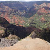 Waimea canyon. Kauai hawaii Royalty Free Stock Image